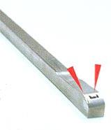 傾斜ピン部の溶接